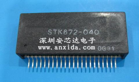 提供stk672-040的中文技术资料附图