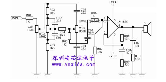 lm1875 功放电路