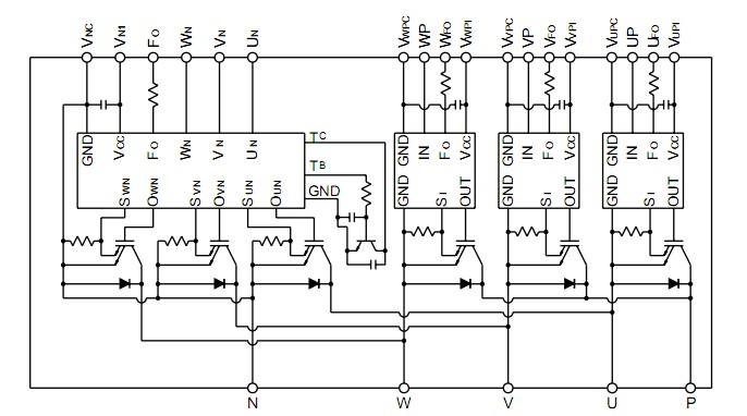 PM30CSJ060 30A/600V/三菱智能功率模块产品详情 PM30CSJ060 产品信息 MITSUBIS 品牌系列产品 PM30CSJ060 批号 08/09+ PM30CSJ060 数量 200 PM30CSJ060 封装 模块 PM30CSJ060 技术参数 30A/600V/三菱智能功率模块 PM30CSJ060 30A/600V/三菱智能功率模块应用: 变频器 UPS 运动/伺服控制 电源 PM30CSJ060 30A/600V/三菱智能功率模块技术参数图表  PM30CSJ060 30