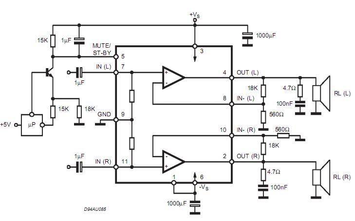 特点: 宽电源电压范围(高达  25V的绝对最大值。) 分离电源 高输出功率 总谐波失真为25W @ 25 + = 10%,当RL =8时,VS = +20 V的 没有AT TURN-ON/OFF民意 静音(Pop免费) 待机功能(LOWIq) 短路保护 THERMALOVERLOAD保护 描述 AB类的TDA7265是双音频功率 plifier在Multiwatt包组装,固相萃取 cially设计的高品质声音的 应用 如HI - Fimusic中心和立体电视机。 TDA7265 图片  TDA7265