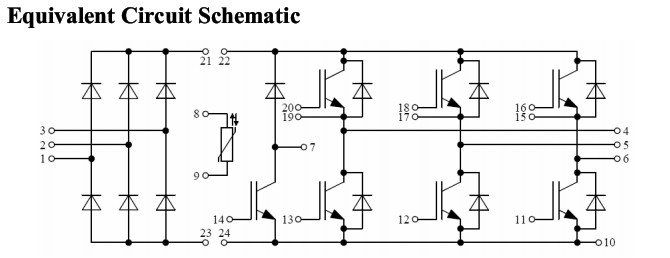gd25pik120c5s 内部电路图