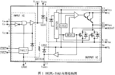 igbt模块的驱动设计电路图