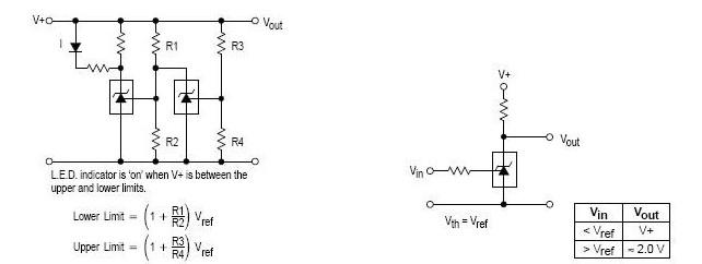 单电源比较温度补偿电路