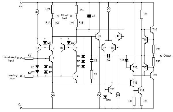 图3   op07内部电路