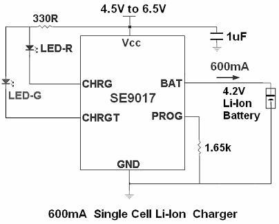 思旺推出改进版锂电池充电ic